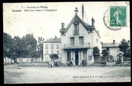 Cpa   Du 03  Environs De Vichy  - Cusset Hôtel Des Postes Et Télégraphes      LIOB103 - Vichy