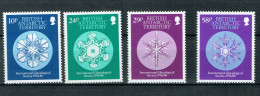 B.A.T. -  Schneekristalle / Snowcrystals  1986 (**/mnh) - British Antarctic Territory  (BAT)