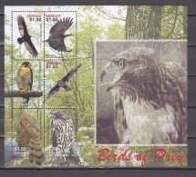 Grenada 2005,6V In Block,birds Of Prey,birds,vogels,vögel,oiseaux,pajaros,uccelli,aves,MNH/Postfris(L2607) - Non Classés