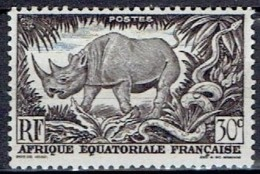 FRANCE # EQUATORIAL 1947 STAMPWORLD 252** - Autres
