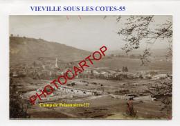 VIEVILLE SOUS LES COTES-Camp De Prisonniers-!!?-CARTE PHOTO Allemande-Guerre 14-18-1 WK-France-55- - Altri Comuni