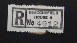 Hong Kong - Registration Label Beaconsfield House A - Look Scan - Otros