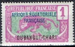 FRANCE # UBANGUI 1924-26 STAMPWORLD 43**