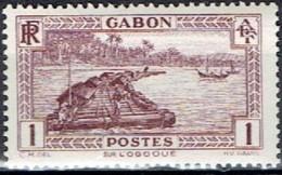 FRANCE # GABON 1932 STAMPWORLD 140**