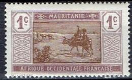 FRANCE # MAURITANIEN 1913-17 STAMPWORLD 17**