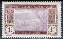 FRANCE # COTE D'IVOR 1913 STAMPWORLD 46** - Autres