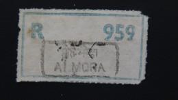 India - Registration Label Almora - Look Scan - India