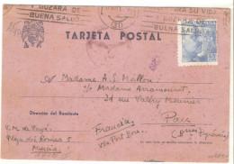 Tarjeta Postal  1943 - 1931-Today: 2nd Rep - ... Juan Carlos I