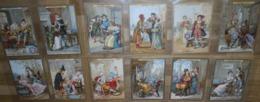 Série Des 12 Chromos Image - COSTUMES HISTORIQUES - Lefèvre Utile - Vers 1900 - Biscuit LU /63 - Lu