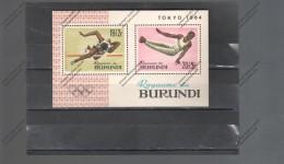 BURUNDI Nº HB 5 - Summer 1964: Tokyo