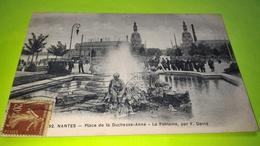 NANTES - CPA Carte Postale Ancienne - Usine Tours Lefèvre Utile - 1920 - Biscuits LU /31 - Nantes