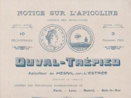 27 MESNIL-SUR-L'ESTREE DUVAL-TREPIEO APICULTEUR - France