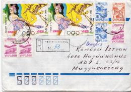 Postal History Cover: Ukraine Cover - Hiver 1994: Lillehammer