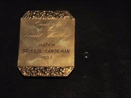 JOURNAL LE SOIR - UN GRAND MERCI - Oeuvre De La Saint Nicolas Match BRISTOL SANDEMAN - 1933 Signee G DEVREESE - Belgique