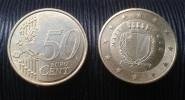 MALTA  50 Euro Cents 2008  EIRO CIRCULEET COIN - Malta