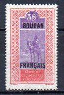 TGC/ Soudan  N° 29  Neuf  XX  MNH , Cote :  0,70 € , Album 12 - Soedan (1894-1902)