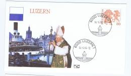 SWITZERLAND - LUZERN - POPE JOHN PAUL?VISIT - FIRST DAY OF ISSUE - 1984 - FDC