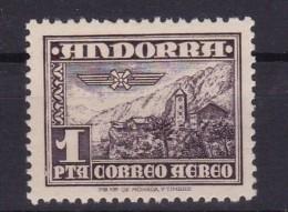 ANDORRA Español / ANDORRE Espagnol - Poste Aérienne Yvert N°PA 1  Neufs MNH ** Cote 27€ - Andorre Espagnol