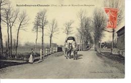 60 Saint Omer En Chaussée (oise) Route De Marseille En Beauvaisis Bel Attelage - France