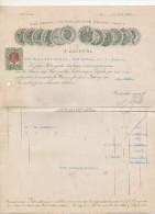 "Austria - Vienna  - Fattura Della Ditta "" J. Zacherl ""  Datata  30 Marzo 1912 - (BPLAST7) - Austria"