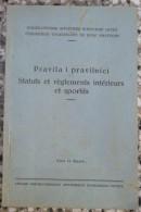 JUGOSLOVENSKI AMATERSKI BOKSERSKI SAVEZ, PRAVILA I PRAVILNICI 1930 Kingdom Of Yugoslavia Boxing - Boeken