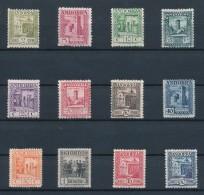 ANDORRA Español / ANDORRE Espagnol 1929/43 - Yvert 22A/24A + 16B/21B + 28, 38, 40 Neuf * Avec Charnière - Cote 213€ - Nuevos