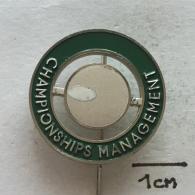 Badge (Pin) ZN002657 - Ice Figure Skating Yugoslavia Ljubljana European Championship 1967 CHAMPIONSHIPS MANAGEMENT - Skating (Figure)