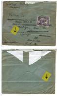 Belgisch Congo Belge Belgie Belgique Belgio Belgium Enveloppe Cover Printed Matter Imprime 19??