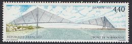 FRANCE Francia Frankreich - 1995, Yvert 2923 - Pont De Normandie - 4,40 F, Neuf, Parfait - Frankreich
