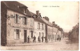60 - Ivors / YVORS - La Grande-Rue / Restaurant LOISELLEUX - Marchand De Vins +++++ Venier, édit. ++++ 1934 +++ ANIMÉE - Altri Comuni