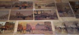 15 CPA Cartes Postales Chromo - PARIS - Luigi Loir - Lefèvre Utile - Vers 1900 - Biscuit LU /40 - Lu