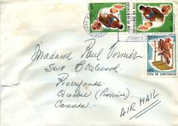 1975  Lettre Avion Pour Le Canada  Tisserand, Potier X2 - Mali (1959-...)