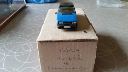 Skoparts Skoda 120 LSE 1/43 - Limited Order Van 200 Stuks Mint In Box - Autres