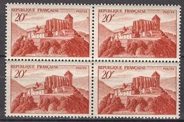 FRANCE 1949 - BLOC DE 4  Y.T. N° 841A - NEUFS** FF756 - France