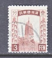 Japanese Occupation Manchukuo  27  (o) - 1932-45 Manchuria (Manchukuo)
