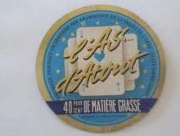 étiquette De Fromage Lorraine 54N Fromagerie De Olley  L'as D'atout  Cartes à Jouer  VARIANTE - Fromage