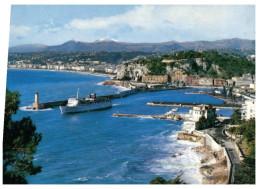 (M+S 444) France - Nice Lighthouse - Phare + Ferry - Lighthouses