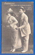 Fantaisie; Paar; Couple; Liebespaar; Autoliebchen; 1914 - Oper