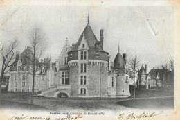 Bonnétable (Sarthe) - Château De Bonnétable - Carte Précurseur N° 4 - Bonnetable