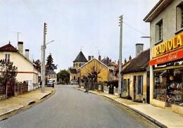 CPSM 03 THIEL SUR ACOLIN LA GRAND'RUE   1974 Commerce Avec Pub Radiola  Grand Format 15 X 10,5 - Other Municipalities