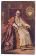 ROMA ARTE PITTURA SUA SANTITA´ PAPA PIO XI° CONGRESSO EUCARISTICO  1922 F/P VIAGGIATA 1923 - Papi
