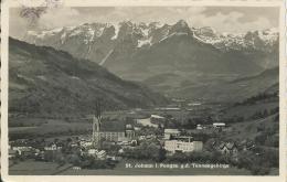 AK 0501  St. Johann Im Pongau Gegen Das Tennengebirge - Verlag Jurischek Um 1935 - St. Johann Im Pongau