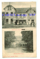 T67  Cpa  Gasthaus M Gross  , Mechern  FREMERSDORF  1909    !!! TOP !!!    2 SCANS - Kreis Saarlouis
