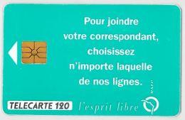 TELECARTE F345 RATP - 1993