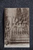 ANGKOR VAT - Fragment De Bas Relief, Encadrement D'une Des Portes. - Cambodge