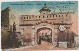 SCHLOSSBERGEINGANG - POZSONY - VARKAPU - POZDRAV Z BRATISLAVY - Slovaquie