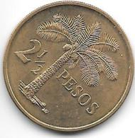 *guinea-bissau 2,5 Pesos 1977  Km19  Unc - Guinea-Bissau