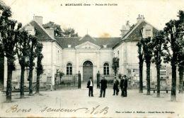 N°115 G -cpa Mortagne -palais De Justice- - Mortagne Au Perche