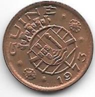 *guiea-bissau  Portugees Guinea 20 Centavos 1973  Km13  Unc Catalog Val 30,00$ - Guinea-Bissau