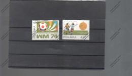 POLONIA Nº 2155 AL 2156 - Copa Mundial